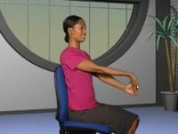 Forearm stretch up